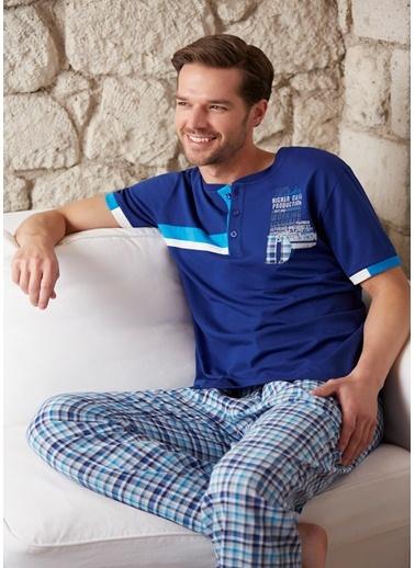 3'Lü Pijama - Şort Takımı Dagi